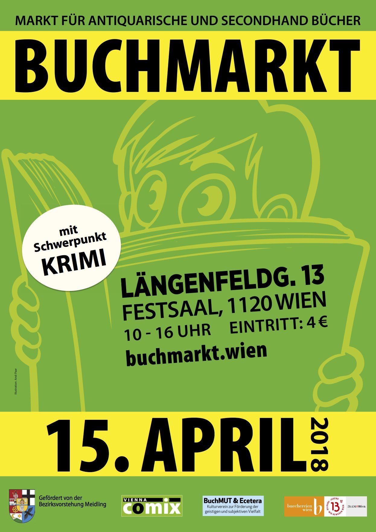 BuchMarkt Wien 15.4.17