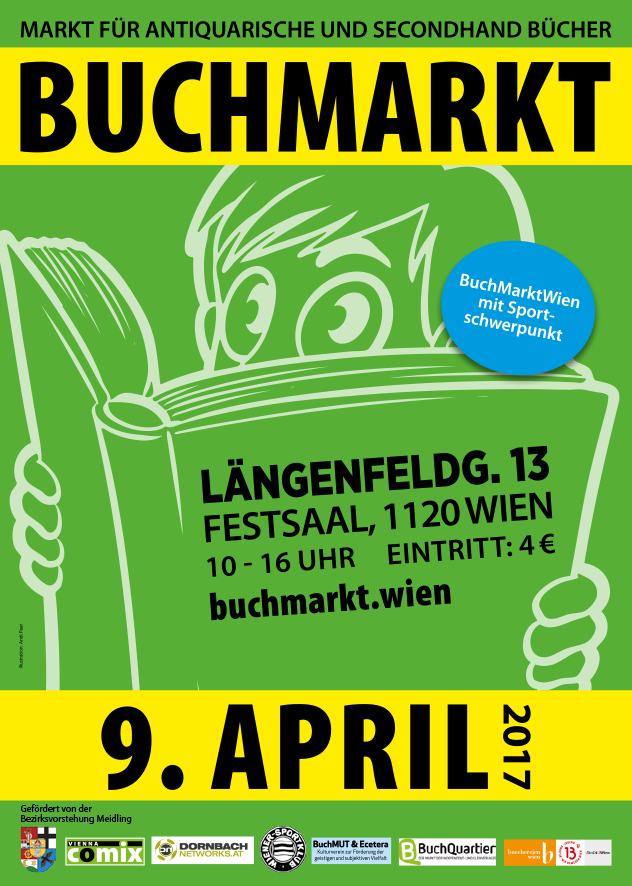BuchMarkt Wien April 2017 - Flyer