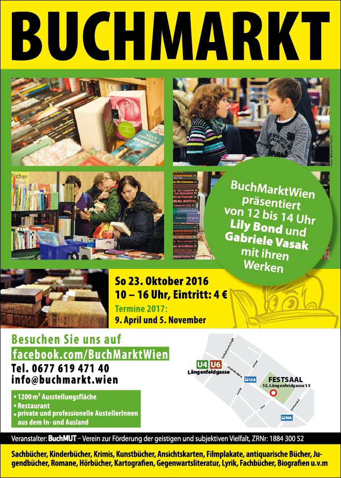 BuchMarkt Wien 23. Oktober 2016